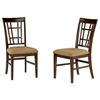 Montego Bay Lattice Dining Chair w/ Cappuccino Seat