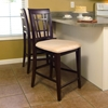 "Montego Bay 25.5"" Counter Stool - Oatmeal Cushion"