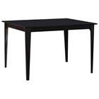 Montreal 48 x 36 Solid Top Contemporary Dining Table