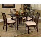 Montreal 5 Piece Dining Set w/ Square Table