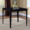 Montreal 60 x 42 Contemporary Dining Table w/ Butterfly Extension