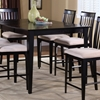 Montreal 60 x 42 Contemporary Pub Table w/ Butterfly Extension