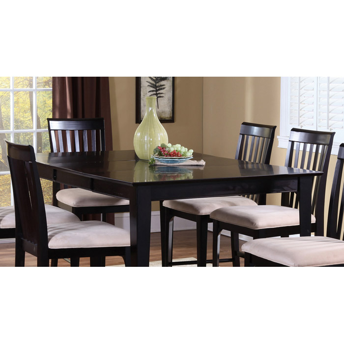 Montreal 60 x 42 Contemporary Dining Table w/ Butterfly Extension - ATL-MO60X42DTBL