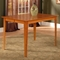 Montreal Butterfly Extension Pub Table and Mission Pub Chairs Set - ATL-MO54X54BLPT7PC