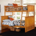 Nantucket Twin Over Full Bunk Bed w/ Beadboard Detail