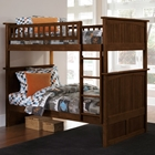 Nantucket Twin Bunk Bed w/ Beadboard Detail
