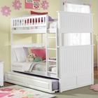 Nantucket Cottage Style Bunk Bed and Trundle - Twin