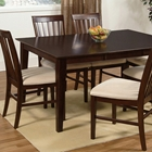 Shaker 60 x 42 Dining Table w/ Butterfly Leaf Extension
