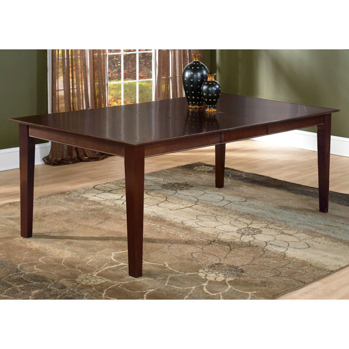 Shaker 78 x 42 Dining Table w/ Butterfly Leaf Extension