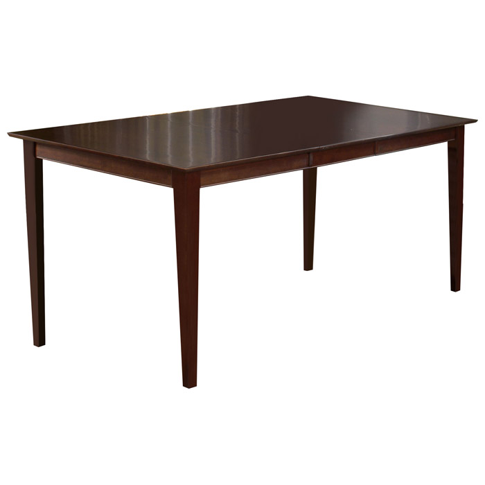 Shaker 78 x 42 Pub Table w/ Butterfly Leaf Extension