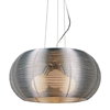 Lenox 3 Light Modern Ceiling Lamp - Aluminum, Stainless Steel, Spherical