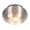 Lenox 3 Light Ceiling Fixture - Aluminum, Stainless Steel