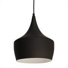Berkley Oriental Pendant Lamp - Black, Metal