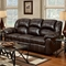 Ambrose Sofa Recliner - Brandon Brown Leather - CHF-1003-BB