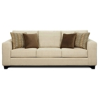 Camden Contemporary Fabric Sofa with Tapered Legs