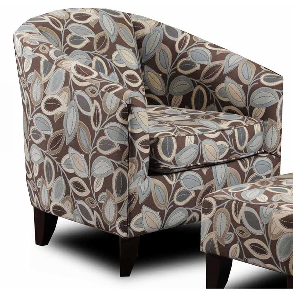 Bixby Accent Chair - Turning Leaf Earth Fabric