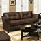 Del Mar Tufted Leather Sofa - Tonto Espresso - CHF-184503-5121