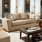 Escondido Tapered Arm Fabric Sofa - Noble Camel - CHF-184683-6801