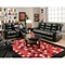 Orleans Upholstered Reclining Loveseat - New Era Black - CHF-185502-4801
