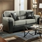 Lancaster Two-Toned Loveseat - Laredo Graphite - CHF-196202