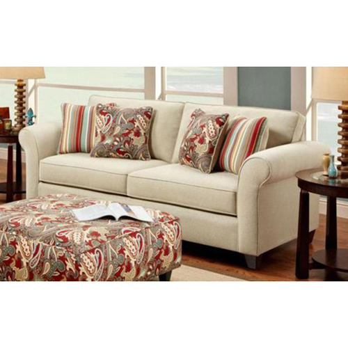 Essex Upholstered Sofa with Accent Pillows