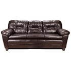 Bridget Plush Sofa - Pillow Top Arms, Denver Mocha Upholstery