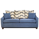 Georgia Contemporary Sofa - Victory Galaxy Fabric