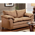 Gail Pillow Top Arm Loveseat - Victory Lane Taupe