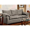 Gail Pillow Top Arm Sofa - Flat Suede Graphite