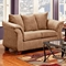 Kiersten Flared Arm Fabric Loveseat - Victory Lane Taupe - CHF-472000-L-VLT
