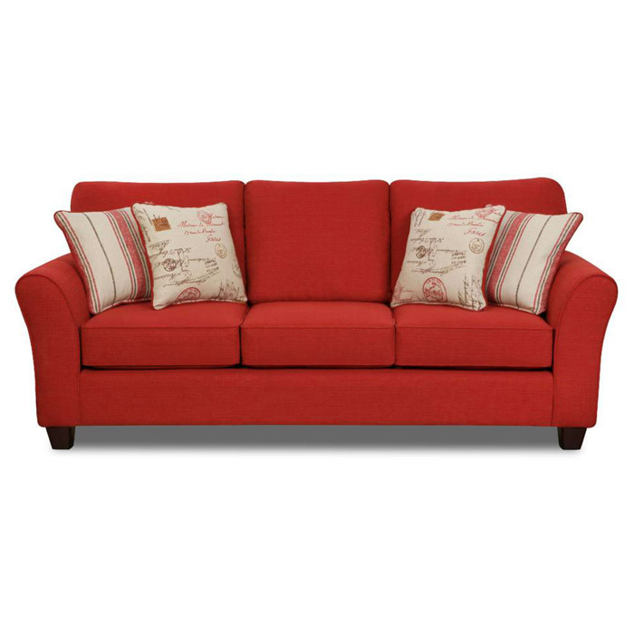 Gloucester Mariner Flame Fabric Sofa
