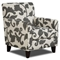 Bergen Fabric Accent Chair with Tapered Legs - CHF-FS702-C