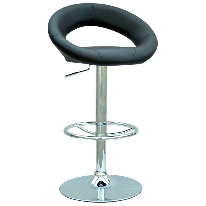 Trudy Contemporary Swivel Adjustable Height Stool - CI-0379-AS-X