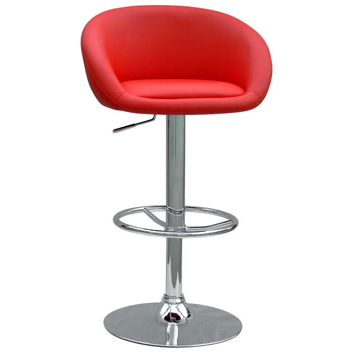 Trish Swivel Adjustable Height Stool - CI-0380-AS-X
