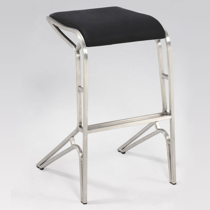 "Thalassa 29.5"" Contemporary Bar Height Stool - CI-0568-BS"
