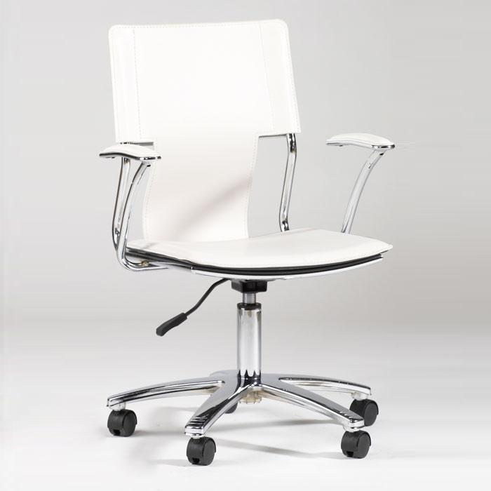 Falcon Swivel Arm Chair with Pneumatic Lift