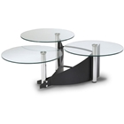 Finn Three Tier Cocktail Table