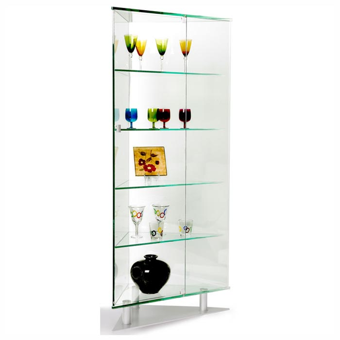 Juliet All Glass Triangle Curio