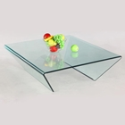 Braden Bent Glass Square Cocktail Table