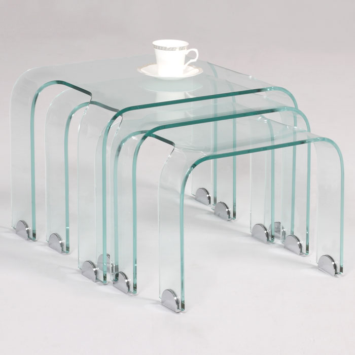 Daphne Glass Nesting Tables