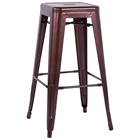 Trent Outdoor Bar Stool - Steel, Stackable