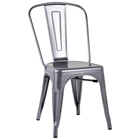 Johann Contemporary Outdoor Chair - Steel