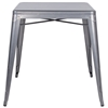 Colton Outdoor Dining Table - Steel, Square Top