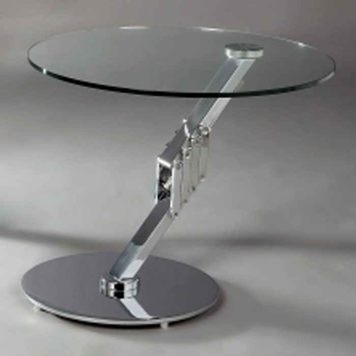 Marlena Round Motion Lamp Table Top