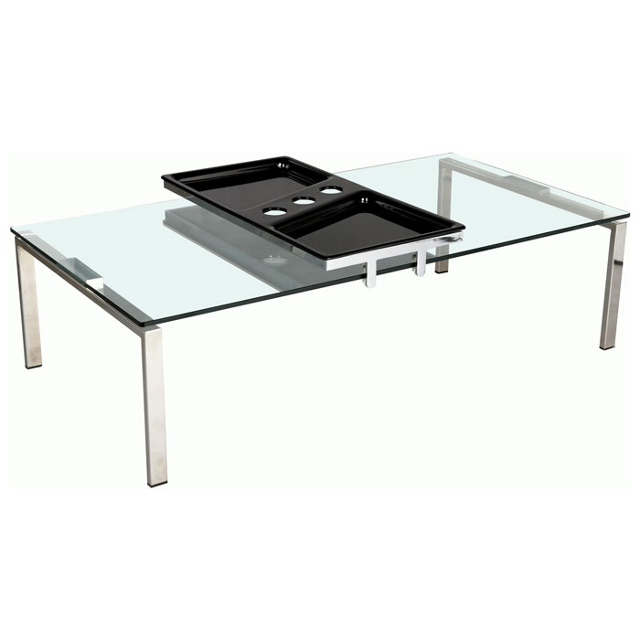 Asteria Rectangular Cocktail Table with Motion Tray - CI-8151-CT