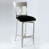 Angelina Swivel Memory Return Bar Stool