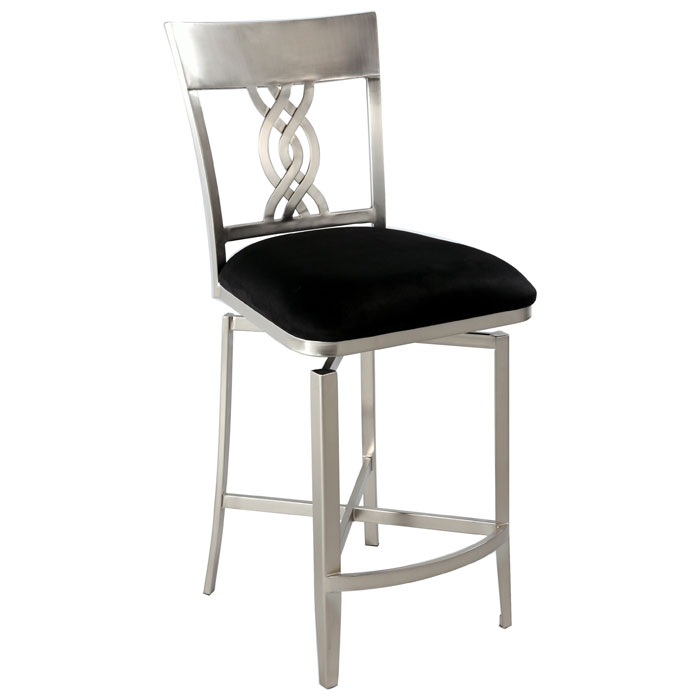 Angelina Swivel Memory Return Counter Stool