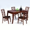 Cheri Expandable Dining Table in Dark Oak - CI-CHERI-DT