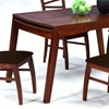 Cheri Expandable Dining Table in Dark Oak