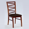 Cheri Side Chair in Dark Oak